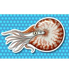 Sea creature vector