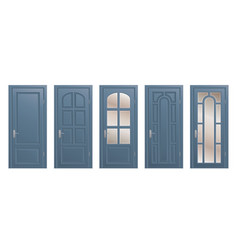 Set of doors vector