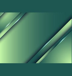 Template design abstract green nature gradient vector