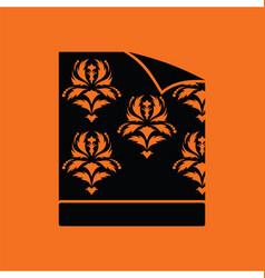 Wallpaper icon vector