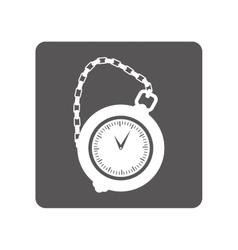 pocket watch icon image vector image