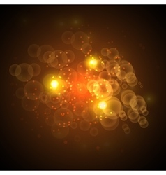 Bright abstract Christmas background Concept vector image