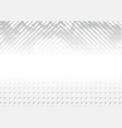 concentric squares halftone background vector image