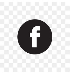 Facebook social media icon design template vector