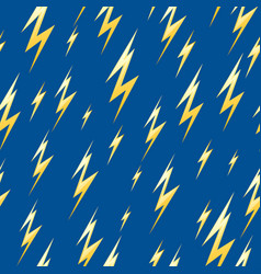seamless pattern with lightning vector image