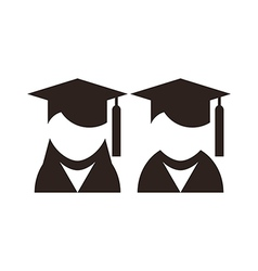 University avatar Education icons vector image
