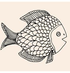 Fish 195 08 vector