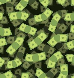 Money seamless pattern Cash background Money Rain vector image