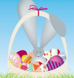 cartoon bunny vector image