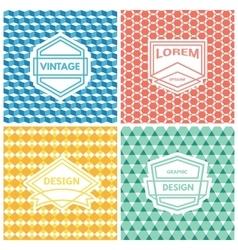 Monogram luxury logo vector