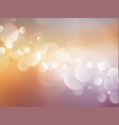 bokeh color background vector image