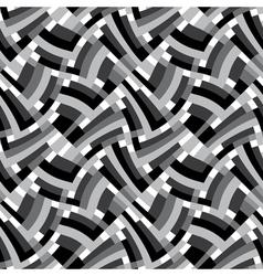 geometric labyrinth vector image