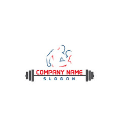 Gym logo 1 vector