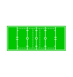 Isolated object rugand stadium icon vector