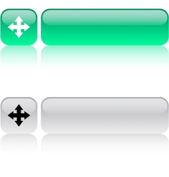 Map square button vector image