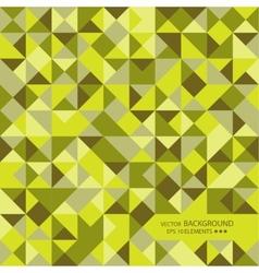 Mosaic of random shapes vector