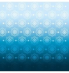Winter blue background crop vector