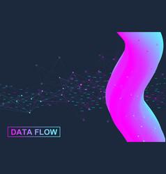 Big data analytics and business intelligence vector