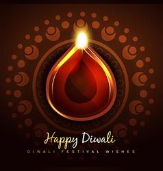 cultural hindu festival vector image