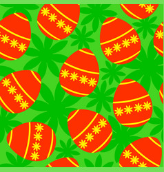 easter background seamless vector image