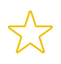 gold star in origami design vector image