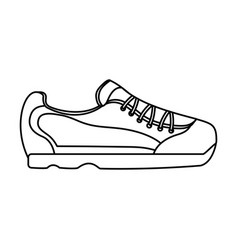 sneaker shoe icon image vector image