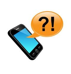 talking on mobile phone vector image
