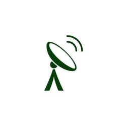 Antenna icon vector