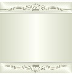 ecru background vector image vector image