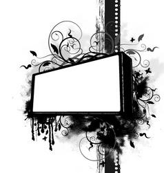 grunge backround vector image