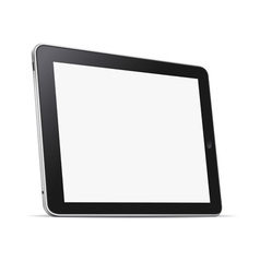 Tablet computer pc vector image vector image