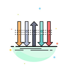Arrow business distinction forward individuality vector