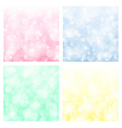 Bokeh backgrounds vector