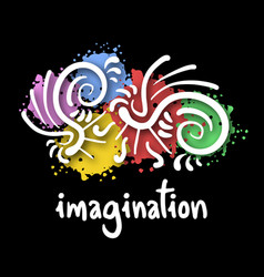 Imagination symbol vector