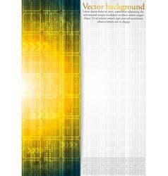 Orange modern background vector image