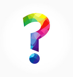 question mark sign icon concept vector image