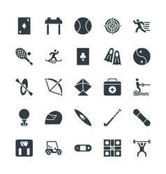 Sports Cool Icons 3 vector