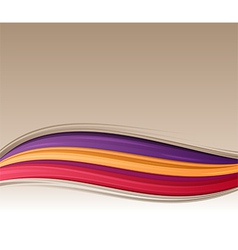 Abstract Flow Background vector image vector image