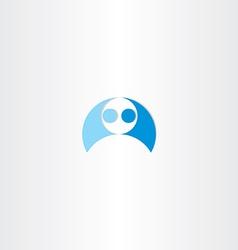 men wrestling icon element vector image vector image