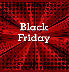 black friday background vector image