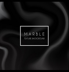 Black marble texture background vector