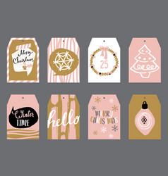 tags for gifts vector image