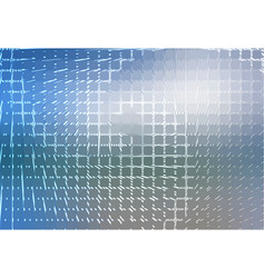 White blue shades spiral rounded mosaic background vector