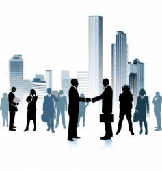urban people vector image