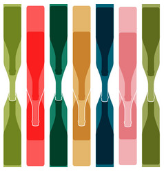 Background color bottle vector