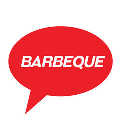 Barbeque stamp in greek vector