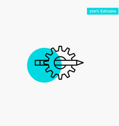 content writing design development gear vector image