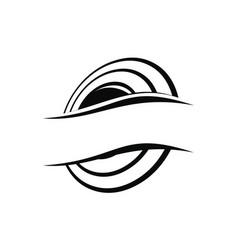 Emblem template blank vector