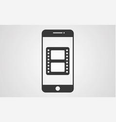 film icon sign symbol vector image
