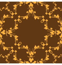 grape pattern background vector image